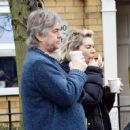 Vanessa Kirby – with her parents checking out Georgian style 3 story house in North London - 454 x 425