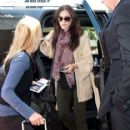 Lily Collins arrived at Los Angeles International Airport today, May 26, to catch a flight out-of-town
