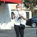 Ariel Winter – In black leggings stops by Rite Aid pharmacy
