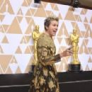 Frances McDormand At The 90th Annual Academy Awards - Press Room (2018) - 454 x 298