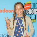 Quinne Daniels – Nickelodeon Kids' Choice Sports Awards 2019 in Los Angeles - 454 x 681