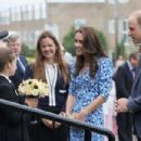 The Duke & Duchess Of Cambridge Visits Stewards Academy With Heads Together - 454 x 303