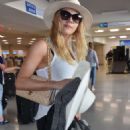 Katheryn Winnick at LMM airport in San Juan - 454 x 765