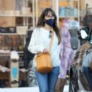 Jordana Brewster – Shopping candids in Pacific Palisades