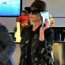 Charlize Theron – Arriving at LAX Airport in Los Angeles