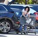 Lena Headey – grocery shopping at Gelson's Supermarket in Los Angeles