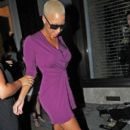 Amber Rose attends the Issa Spring/Summer 2011 fashion show at Somerset House as part of London Fashion Week in London, England - September 21, 2010 - 396 x 594