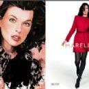 Milla Jovovich for Marella Fall/Winter 2014 ad campaign
