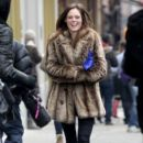 Coco Rocha: stroll with her husband James Conran in New York City