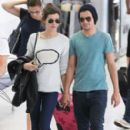 Louis Tomlinson and Eleanor Calder in Nice, France (July 2)