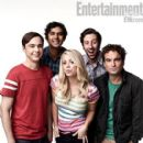Kaley Cuoco,  Jim Parsons, Johnny Galecki, Simon Helberg, Kunal Nayyar, The Big Bang Theory (2007) - Entertainment Weekly Magazine Pictorial [United States] (28 September 2012)