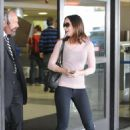 Emily Blunt Arrives Into LAX Airport, 11 May 2010