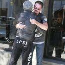 Mickey Rourke Bumps Into Gary Stretch