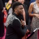 Chadwick Boseman At The 90th Annual Academy Awards - Arrivals (2018) - 454 x 303