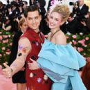 Cole Sprouse and Lili Reinhart- The 2019 Met Gala Celebrating Camp: Notes On Fashion - Arrivals - 435 x 600