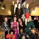 BALMAIN x H&M Collection : Olivier Rousteing Hosts The Public Launch At Champs-Elysees   November 5, 2015  Paris, France