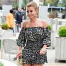 Coleen Rooney in Mini Dress – Night Out at Menagerie in Manchester - 454 x 792