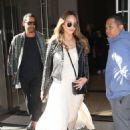 Jessica Alba spotted leaving her Hotel in New York City  (September 9, 2017)