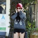 Vanessa Hudgens: going to breakfast in Los Angeles