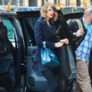 Taylor Swift is seen heading home to her New York City, New York apartment