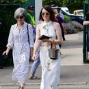 Claire Foy – Wimbledon Tennis Championships 2019 in London - 454 x 606