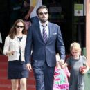 Ben Affleck and Jennifer Garner taking Violet at Seraphina to Star Eco Station in Culver City, CA (June 1)