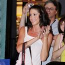 """Shannon Elizabeth - Photographing The Band """"Almost Amy"""" While They Perform At Universal Citywalk, Universal City, Los Angeles - June 21 2008"""