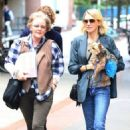 Naomi Watts is all smiles while out and about in New York City, New York with her mom Myfanwy Edwards Roberts on October 17, 2016 - 454 x 523