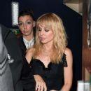 Kylie Minogue at Cafe de Paris in London - 454 x 594