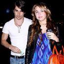 Random photos of Miley Cyrus, Justin Gaston - 240 x 320
