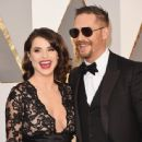 Tom Hardy and Charlotte Riley At The 88th Annual Academy Awards (2016)