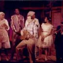 Clarice Taylor (far left) and the cast of Purlie