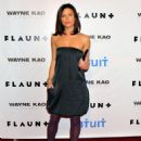 Actress Rhona Mitra attends Flaunt Magazine's 10th Anniversary Party at a private residence on December 18, 2008 in Los Angeles, California.