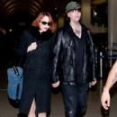 Marilyn Manson and Lindsay Usich arrive at Lax - 416 x 594