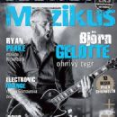 Bjorn Gelotte - Muzikus Magazine Cover [Czech Republic] (October 2013)