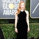 Jessica Chastain At The 75th Golden Globe Awards (2018) - 400 x 600