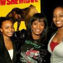 Vanessa Bell Calloway (C) and daughter Ashley Calloway (R)