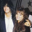 Brandi Brandt and Nikki Sixx