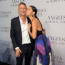 """Model Adriana Lima attends Russell James' """"Angel"""" book launch hosted by Victoria's Secret on September 10, 2014 in New York City"""