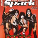 KISS - Spark Magazine Cover [Czech Republic] (May 2017)