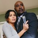Morris Chestnut and Lourdes Benedicto