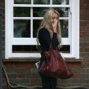 Petra Ecclestone Crying Outside Of Her Father's Home