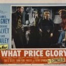 What Price Glory (1952) Poster Postcards - 454 x 355