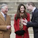 With Prince Charles