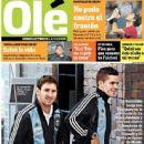Lionel Messi, Fernando Gago - Ole Magazine Cover [Argentina] (7 September 2012)