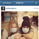 Toni Garrn - Instagram Pictures