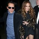 Jennifer Lopez and Marc Anthony: SNL Afterparty Pals