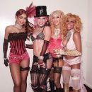 Mya, Pink, Christina Aguillera and Lil Kim At The 2001 MTV Movie Awards