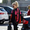 Witney Carson – Arriving for practice at DWTS studio in Los Angeles - 454 x 681
