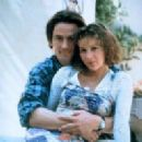 Jennifer Grey and Bill Campbell